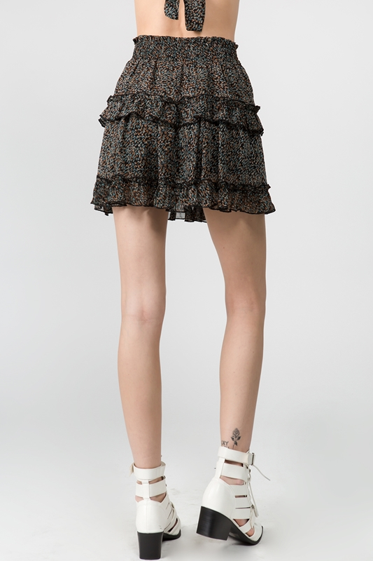 Picture of Layered Ruffle Skirt